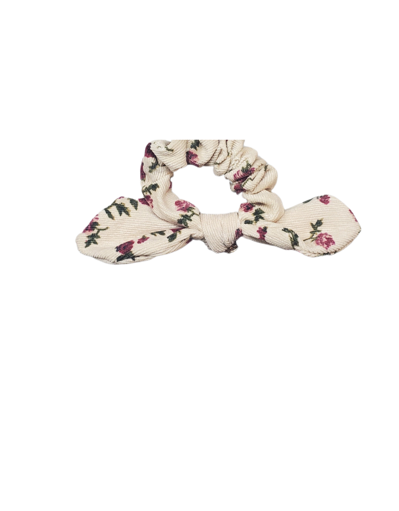 Halo Luxe Halo Luxe Elsie Printed Corduroy Scrunchie