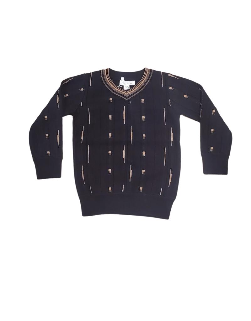 Elle & Boo Elle & Boo Knit Sweater V-Neck