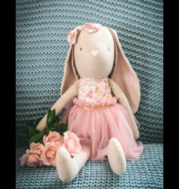 Alimrose Alimrose Linen Pearl Cuddle Bunny