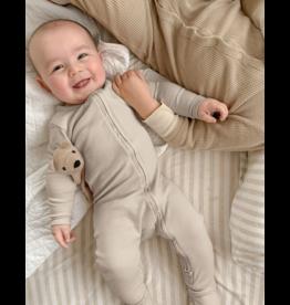 Loved Baby Loved Baby Organic Zipper Footie