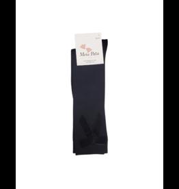 Meia pata Meia Pata Knee Socks  Velvet Bow-1004M
