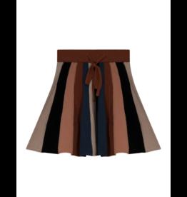 Elle & Boo Elle & Boo Mullticolored Stripe  Skirt