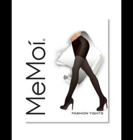 Memoi Memoi Pin Rib Fashion Opaque Tights - MO-119