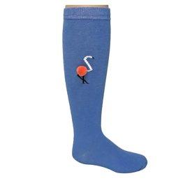 Zubii Zubii Flamingo Knee Socks
