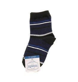 Trimfit Trimfit Colorblock Striped Crew Socks