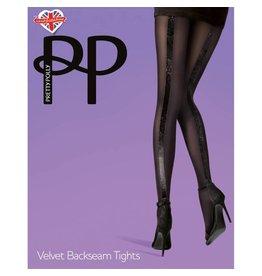 Pretty Polly Pretty Polly Velvet Backseam Tights - PNAUZ2