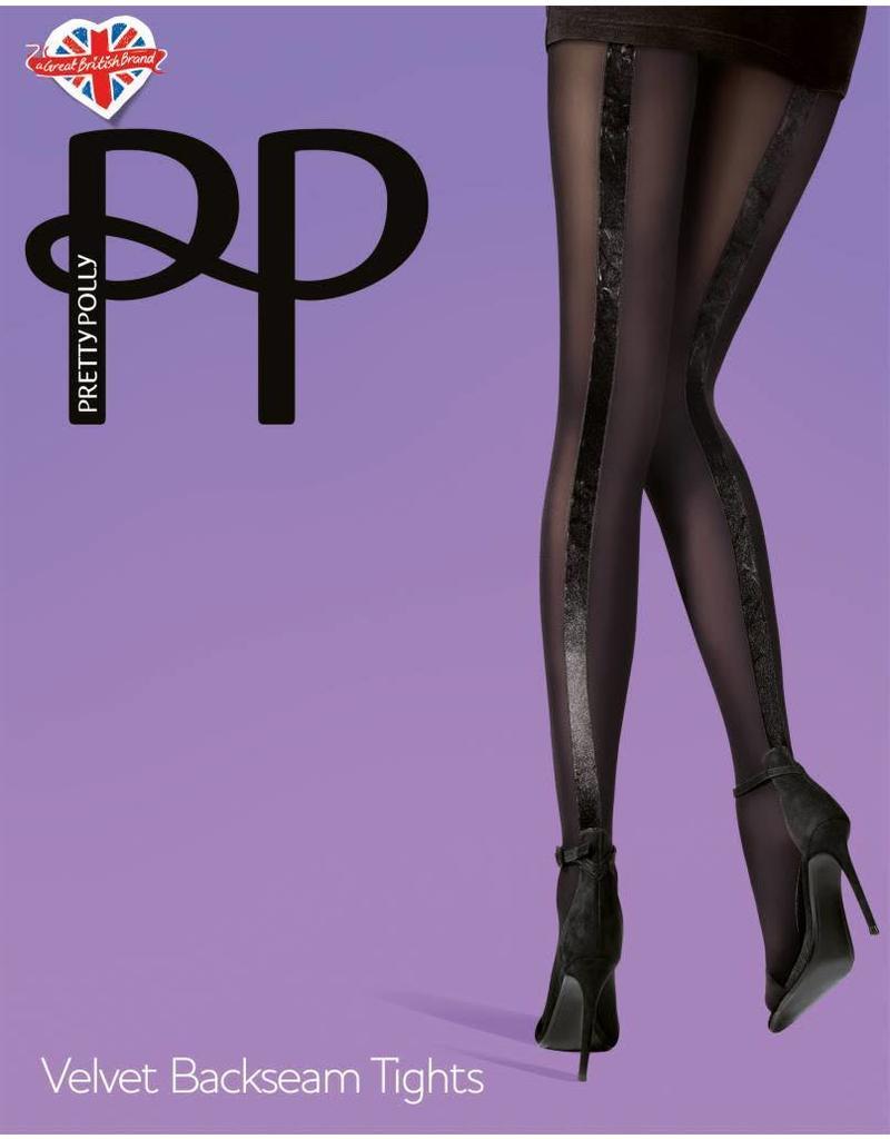 338cb33fd3e Pretty Polly Pretty Polly Velvet Backseam Tights - PNAUZ2 - Tiptoe ...