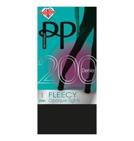 Pretty Polly Pretty Polly 200D Fleecy Tights - PNAVA9