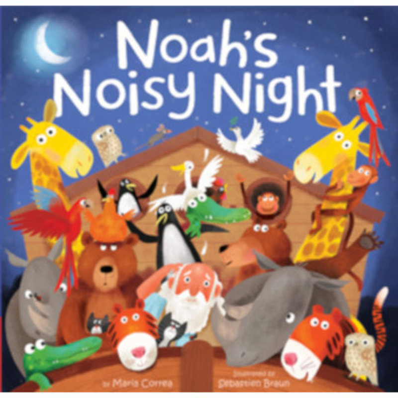 Tiger Tales Noah's Noisy Night