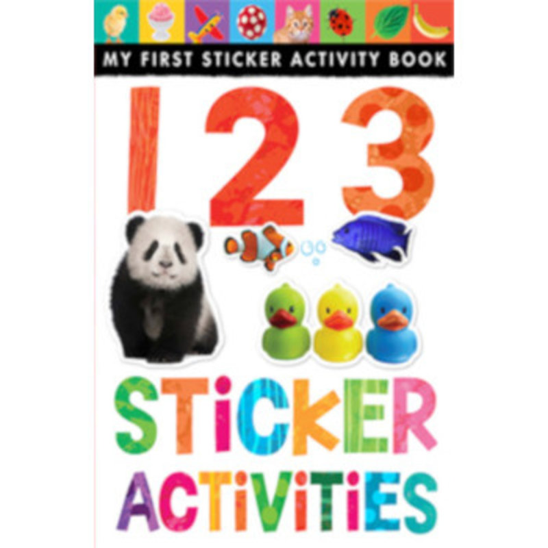 Tiger Tales 123: My First Sticker Activity