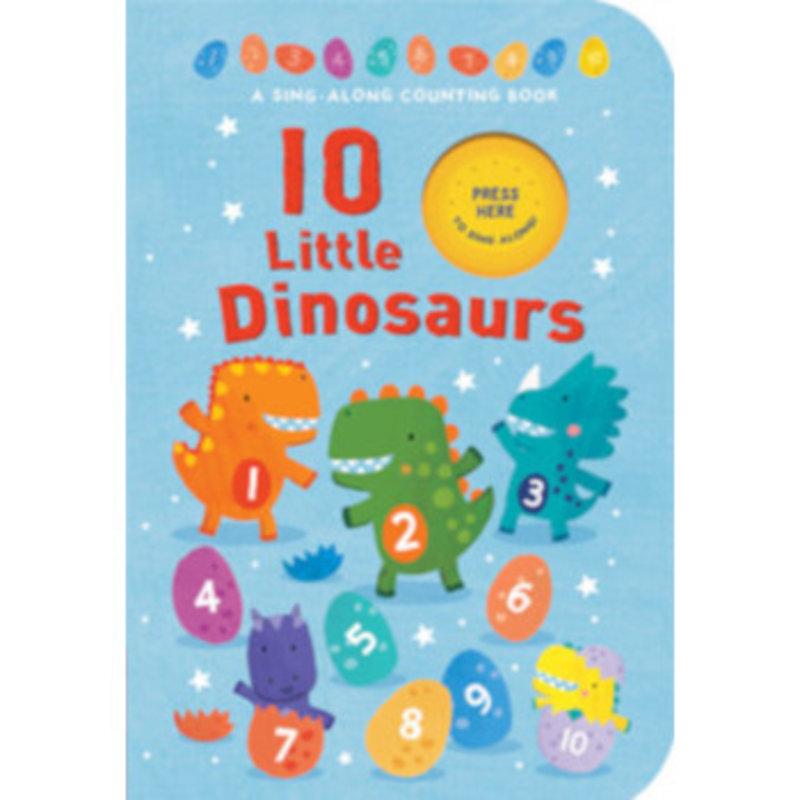 Tiger Tales 10 Little Dinosaurs BB SND