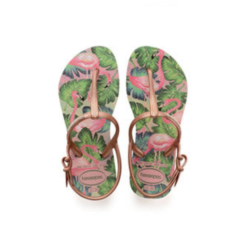 Havaianas Kids Freedom Flamingo Sandal