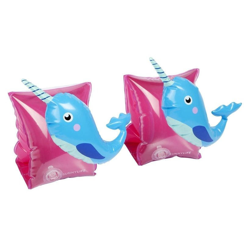 Sunny Kids Sunny Life Float Bands Narwhal