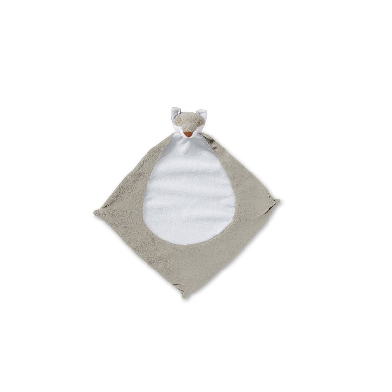 Angel Dear Angel Dear Grey Fox Blankie