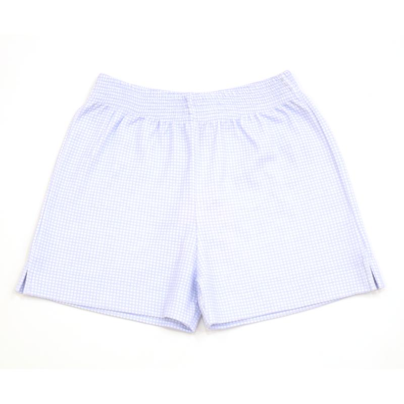 Luigi Luigi Boy's Gingham Shorts