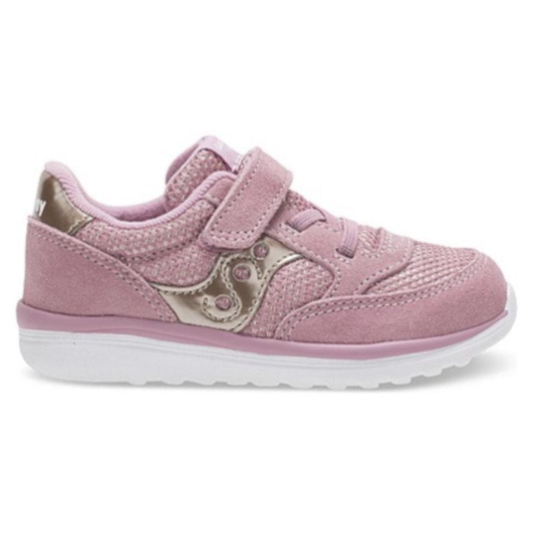 a60934fc Saucony Little Kid's Baby Jazz Lite Sneaker Blush Metallic