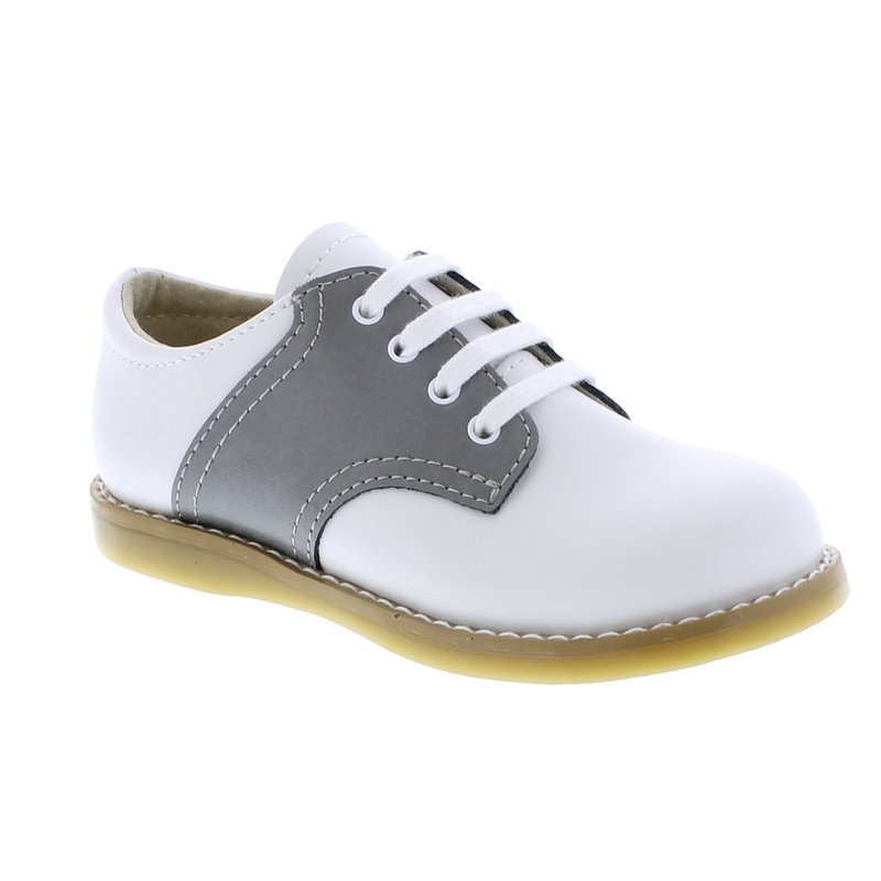 Footmates Footmates Cheer White/Gray