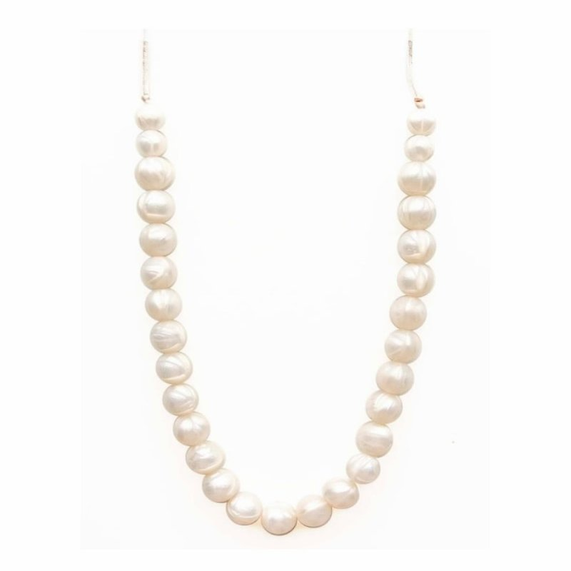 Loulou Lollipop Classic Necklace-Pearl
