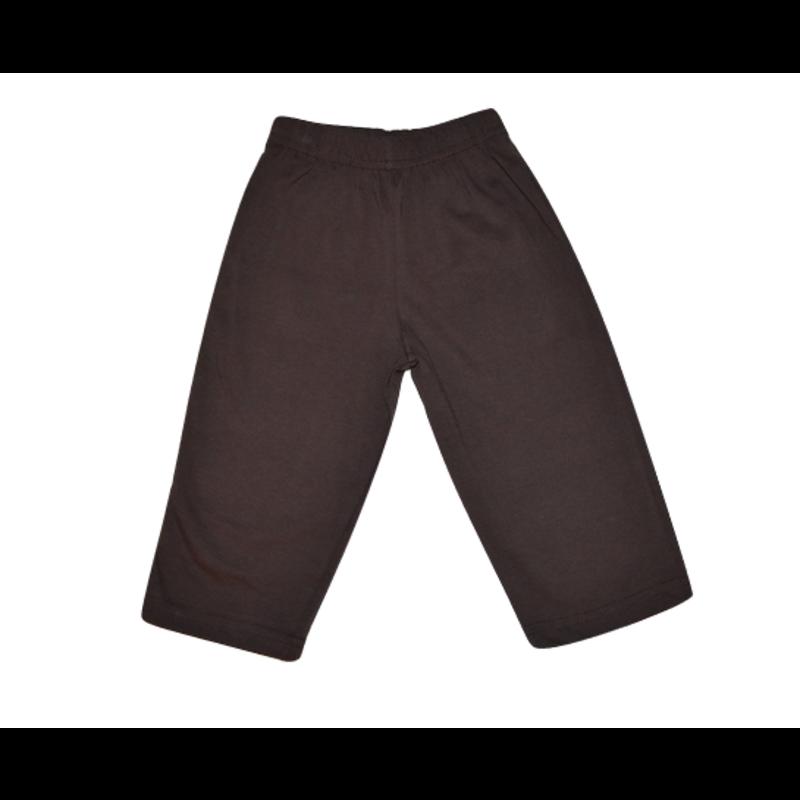 Luigi Luigi Straight Pants Chocolate