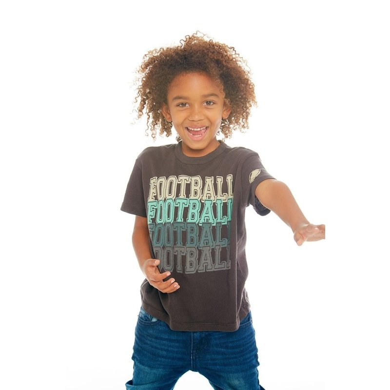 Chaser Chaser Boys SS Football Tee