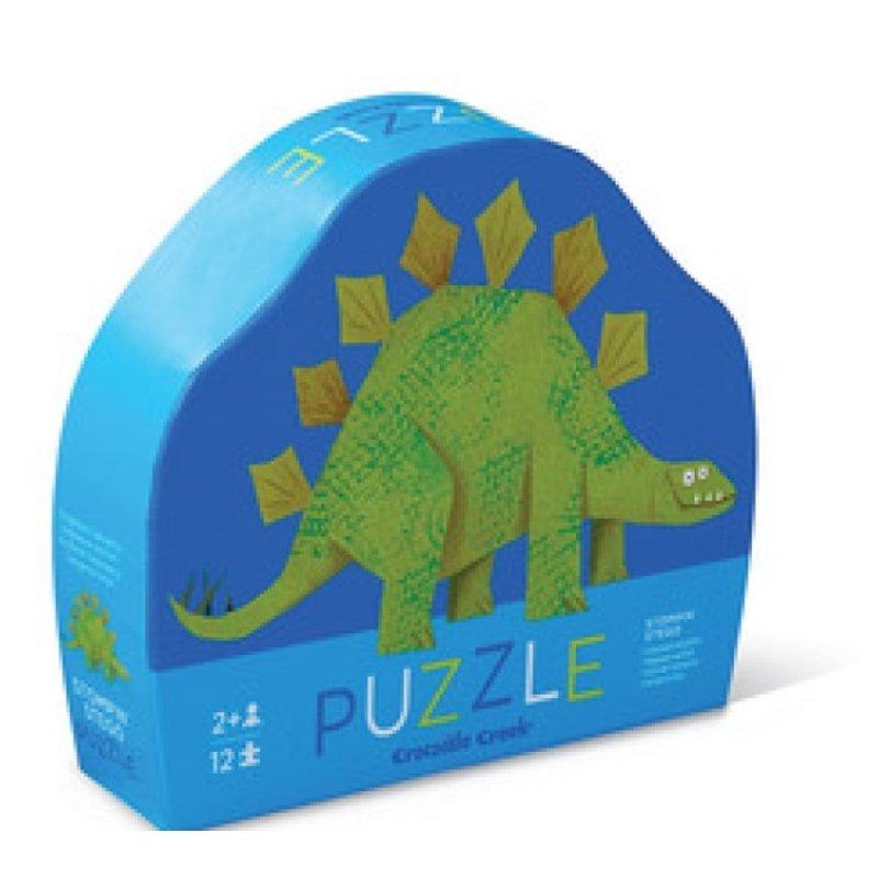 Crocodile Creek 12-pc Puzzle/Stompin' Stego