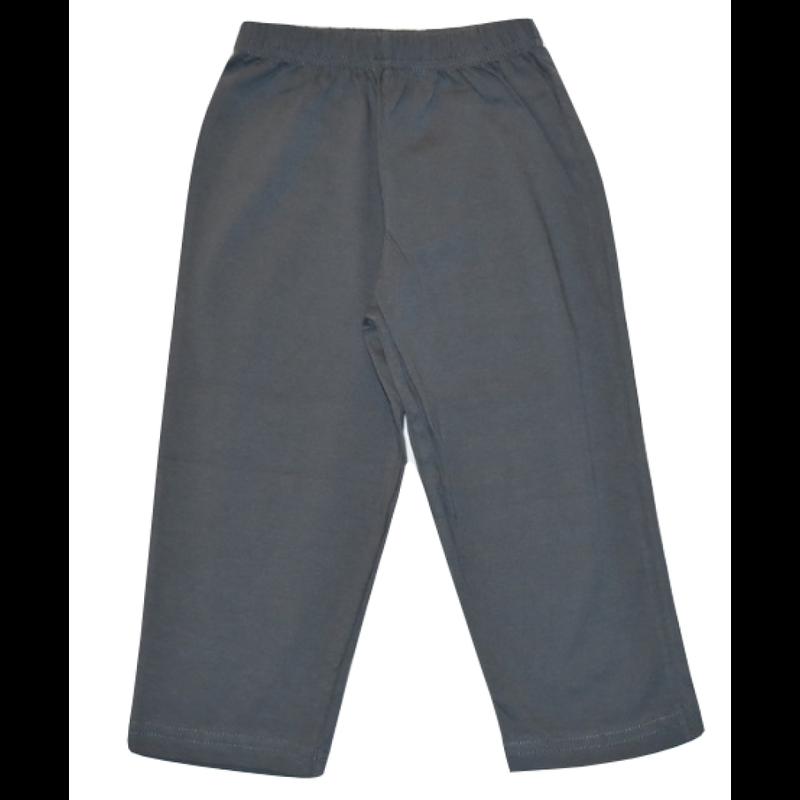Luigi Luigi Jersey Straight Pants - Steel Blue
