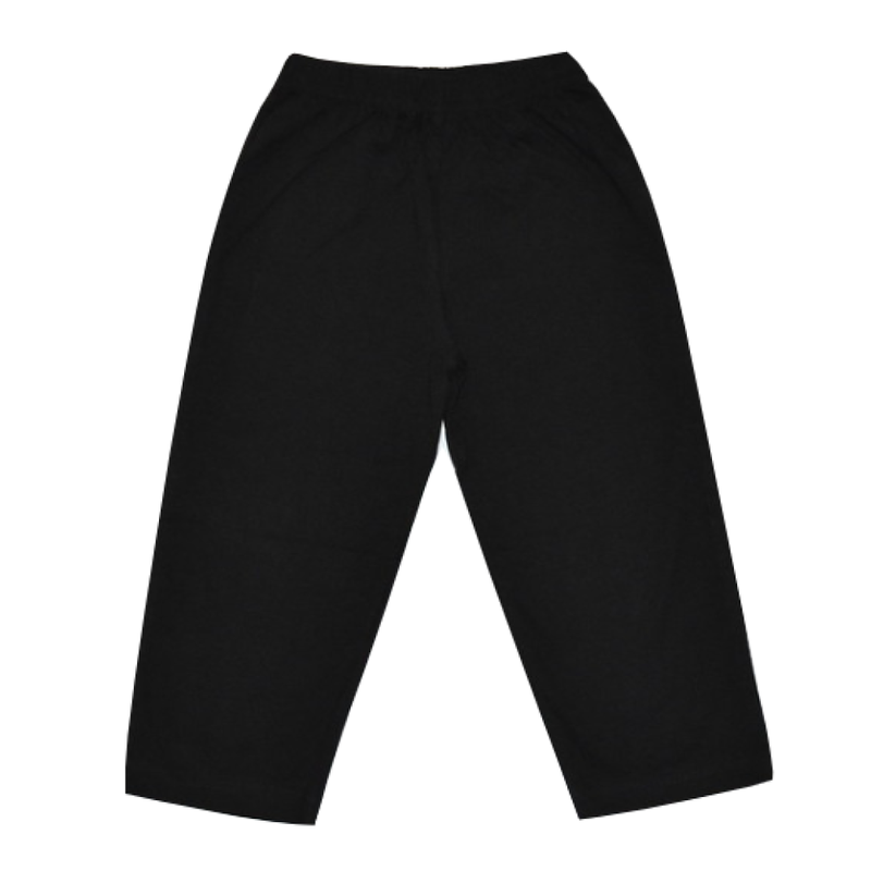 Luigi Luigi Jersey Straight Pants - Black