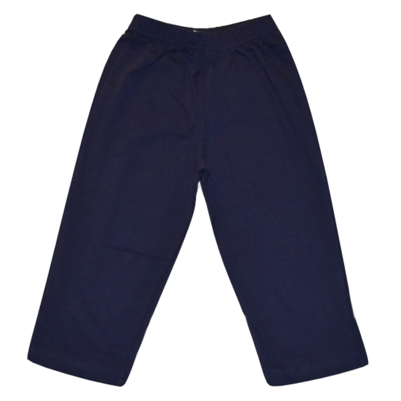 Luigi Luigi Jersey Straight Pants - Dark Royal