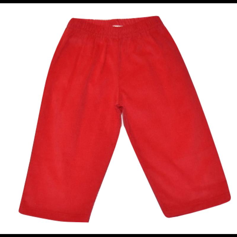 Luigi Luigi Corduroy Pants - Deep Red