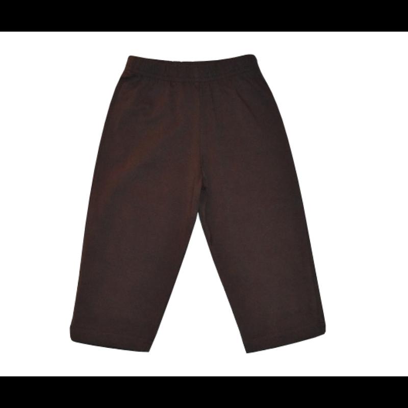 Luigi Luigi Jersey Straight Pants - Chocolate