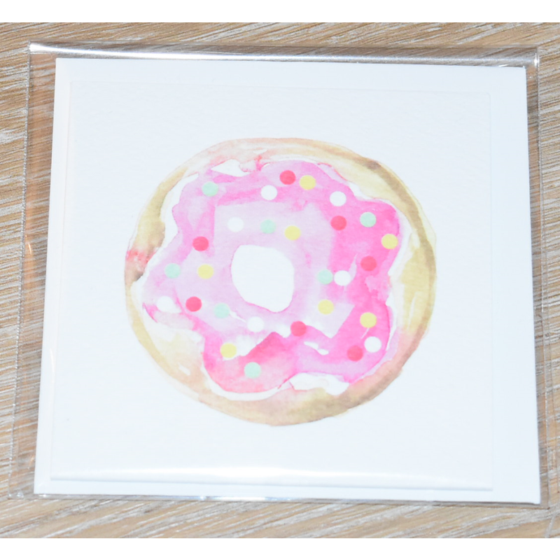 Over The Moon Over The Moon Donut Enclosure Card