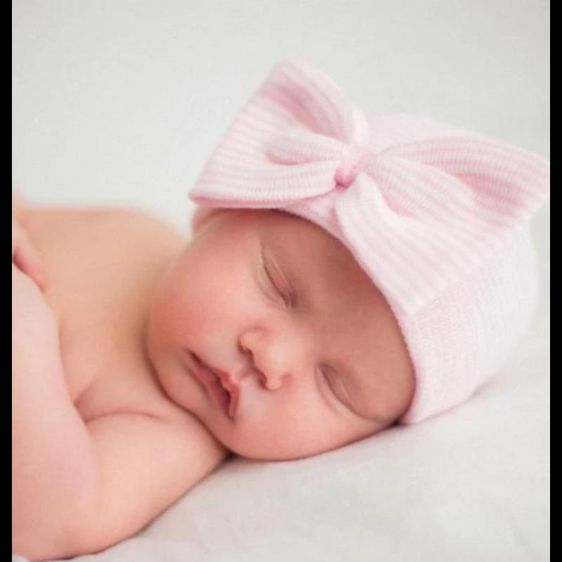 Ily Bean Ily Bean So Sweet Bow Newborn Hat