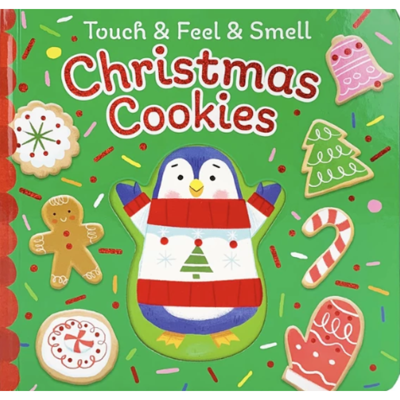 Cottage Door Press Touch & Feel & Smell Christmas Cookies