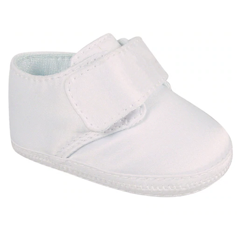 Baby Deer Baby Deer White Satin Oxford w/Removable Strap