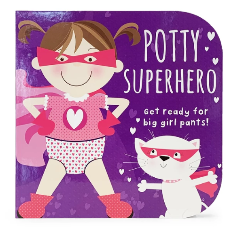 Cottage Door Press Potty Superhero (Girl)