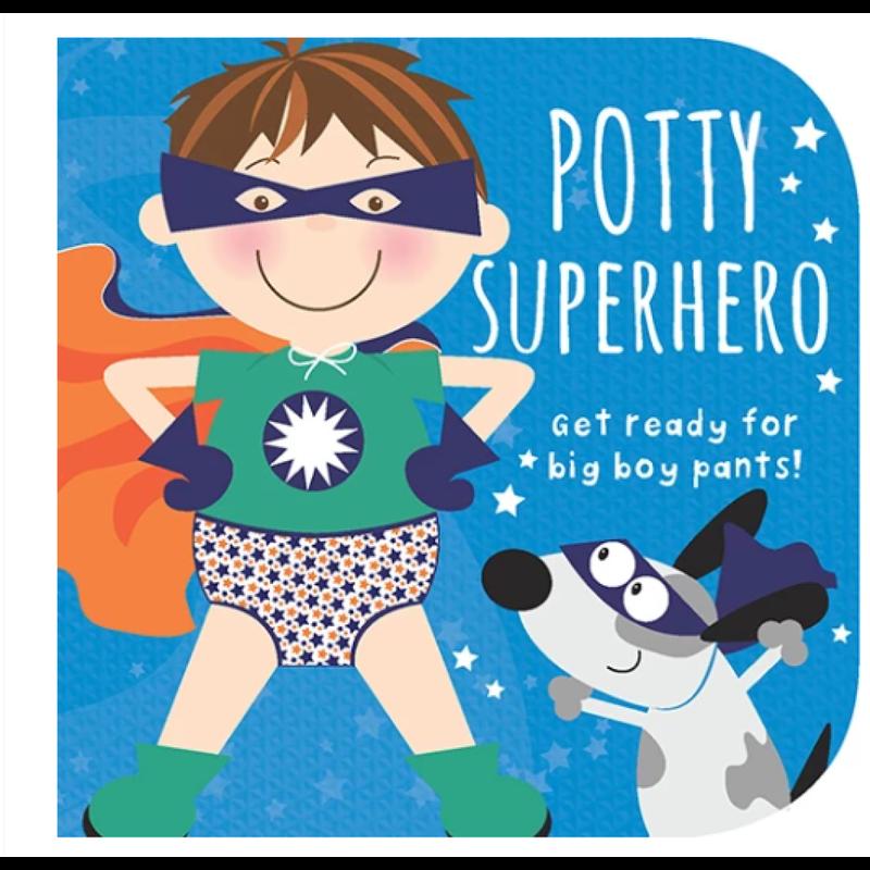 Cottage Door Press Potty Superhero (Boy)