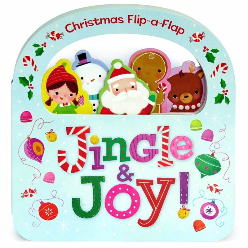 Cottage Door Press Christmas Peek-a-Flap Jingle & Joy