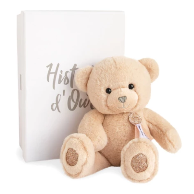 Hotaling Imports Histoire d'Ours Bear Charms Beige Stuffed Animal