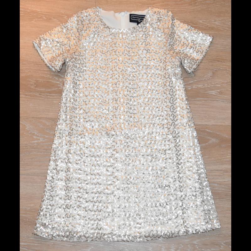 Duffield Lane Duffield Lane Gold Sequin Potter Dress