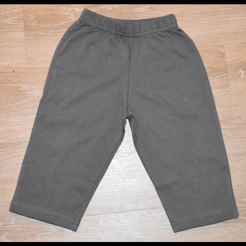 Luigi Luigi Straight Pants - Charcoal
