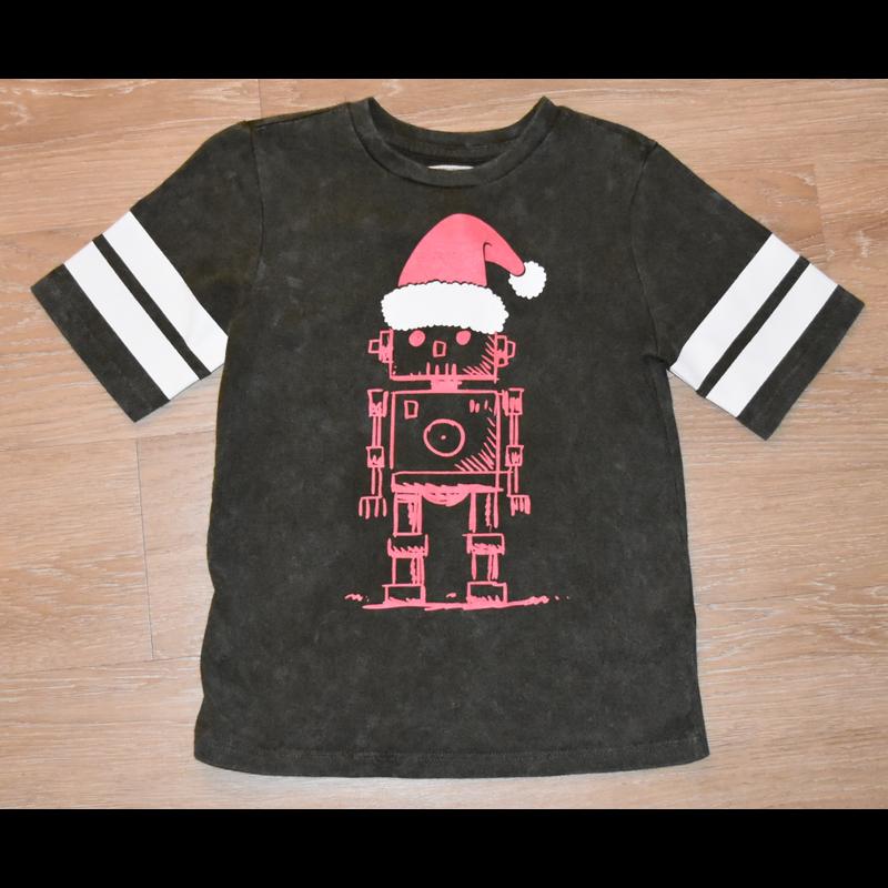Crumbs Crumbs Robot Santa SS T-Shirt