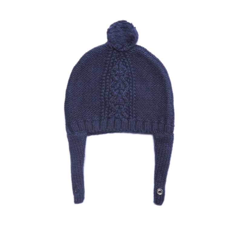 Angel Dear Angel Dear Navy Heather Hat