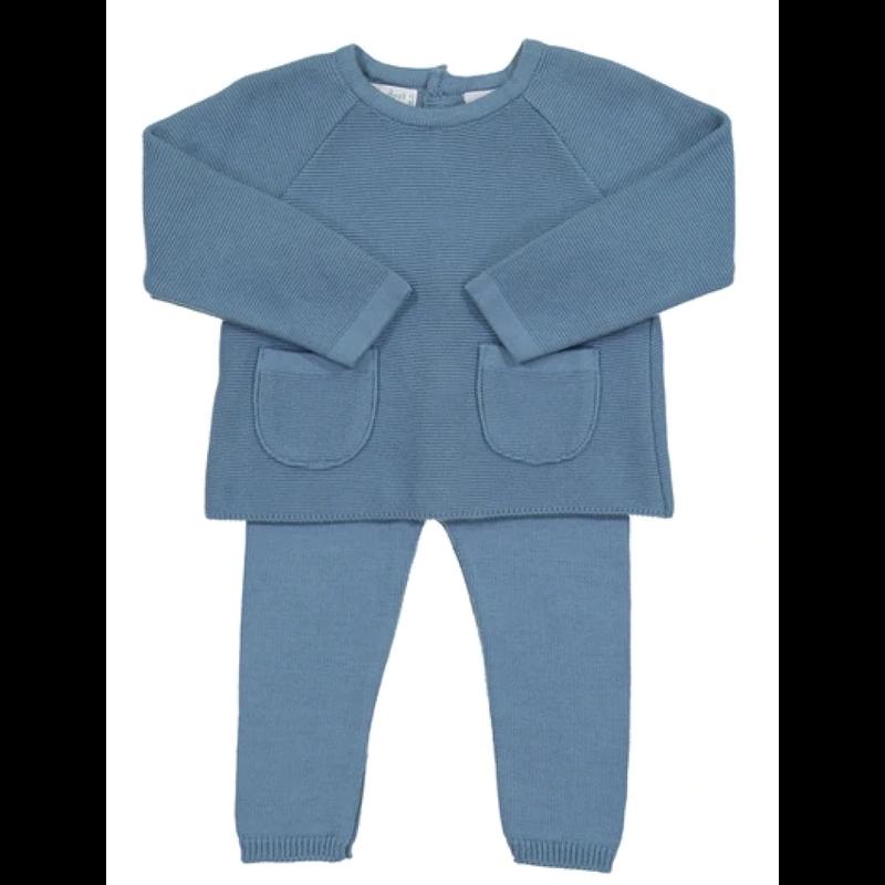 Feltman Brothers French Blue Pocket Knit Set