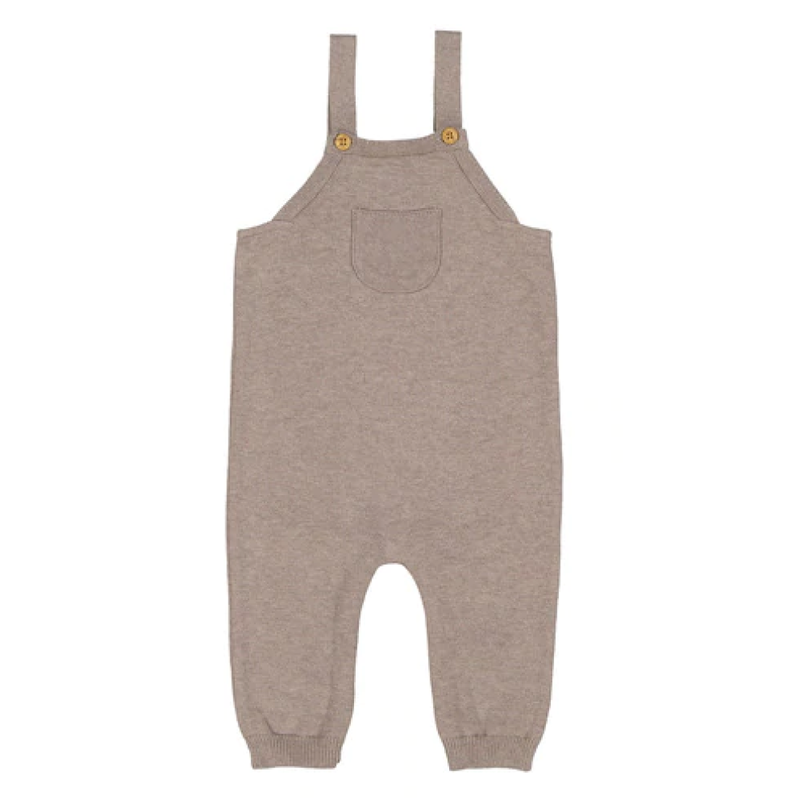 Feltman Brothers Heather Tan Classic Knit Overall