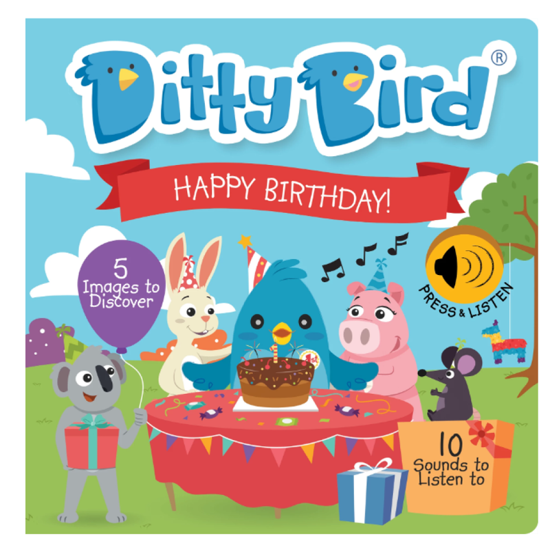 Ditty Bird Ditty Bird Happy Birthday Book
