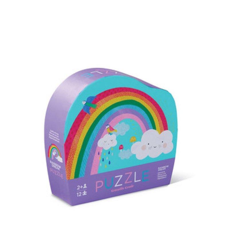Crocodile Creek 12-pc Mini Puzzle/Rainbow