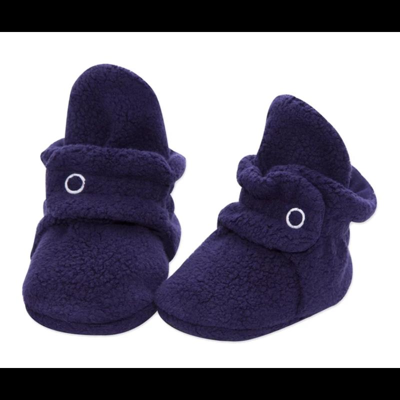 Zutano Zutano Fleece Baby Bootie - True Navy