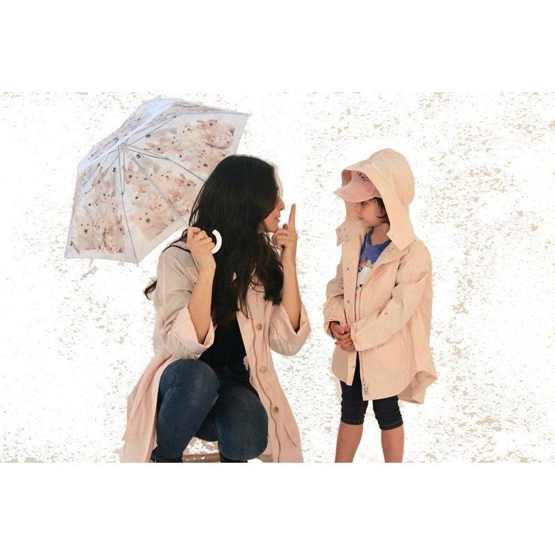 Ciao Milano Ciao Milano Savinee Pink Blush Rain Jacket