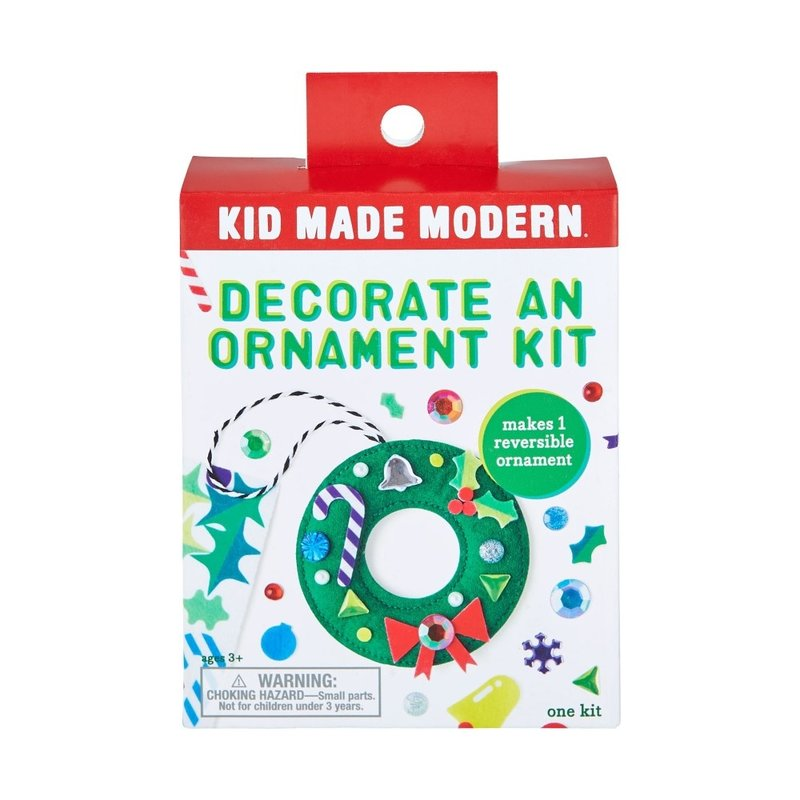 Kids Made Modern Kids Made Modern Decorate a Wreath Ornament Kit