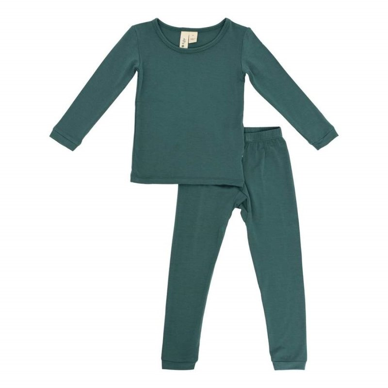 Kyte Baby Kyte Baby Toddler Pajama Set in Emerald